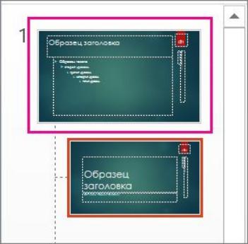 Мастер слайды в PowerPoint